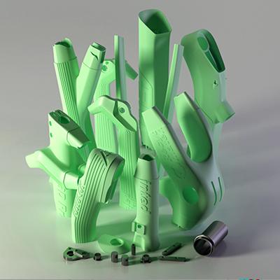aenimal 3d printed bike parts