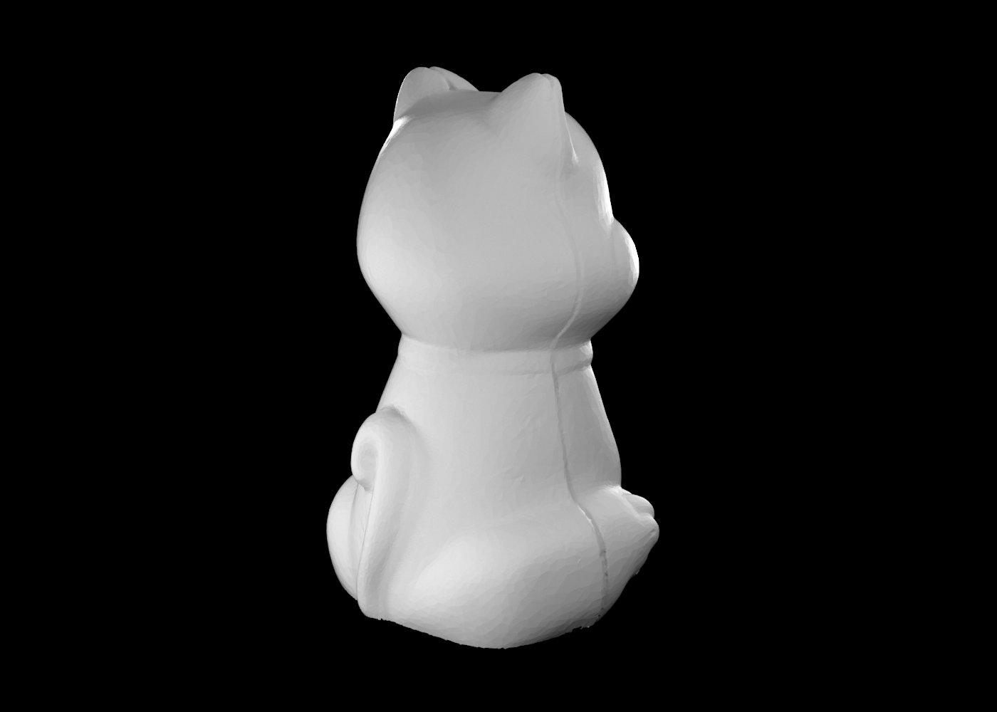 reverse engineering statua gatto 4